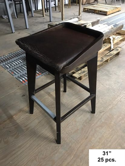 25 Wood Barstools