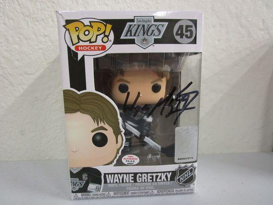 Wayne Gretzky of the LA Kings signed autographed Funko Pop Vinyl Figure PAAS COA 997