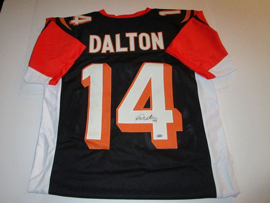 Andy Dalton, Cincinnati Bengals Star Quarterback, Autographed Jersey w Dalton Hologram