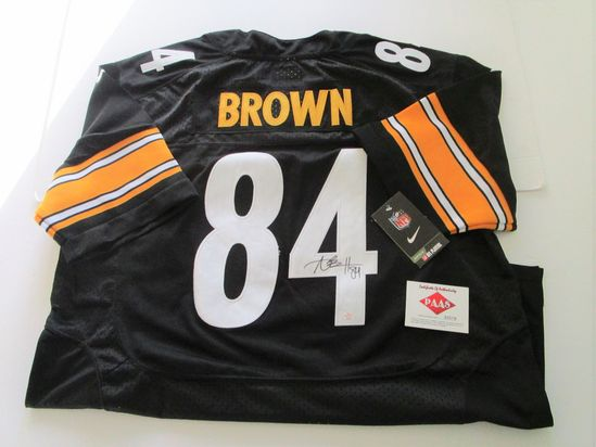 Antonio Brown, Pittsburgh Steelers, 7 Time Pro Bowler, Autographed Jersey w COA