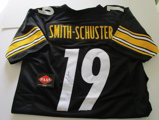 JuJu Smith-Schuster, Pittsburgh Steelers, Pro Bowler, Autographed Jersey w COA
