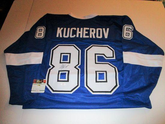 Nikita Kucherov, Tampa Bay Lightning All Star Winger, Autographed Jersey w COA