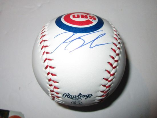 Kyle Schwarber, Chicago Cubs Star, World Series Champion, Autographed Baseball w COA