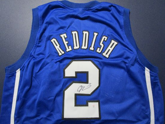 Cam Reddish of the Duke Blue Devils signed autographed basketball jersey PAAS COA 670