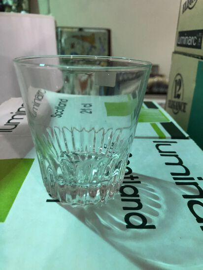 (72) Luminarc Glass Tumblers (new)
