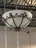 (6) Ceiling Mounted Chandeliers (new)
