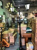 Antique styled Street Lamp Display