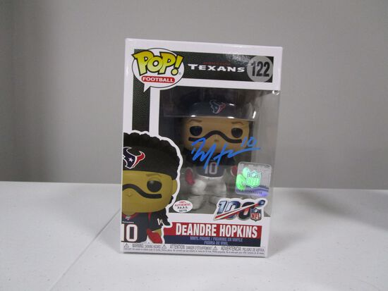 DeAndre Hopkins of the Houston Texans signed autographed Funko Pop Figure PAAS COA 770