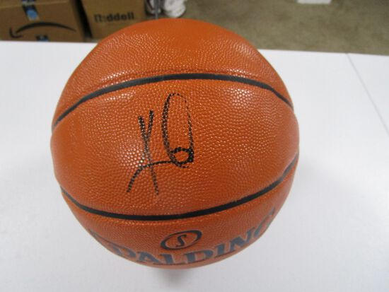 Kyrie Irving of the Brooklyn Nets signed autographed full size basketball PAAS COA 188