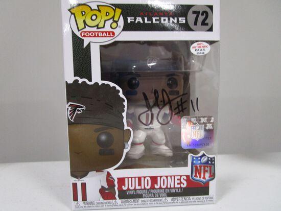 Julio Jones of the Atlanta Falcons signed autographed POP Funko Figure PAAS COA 749