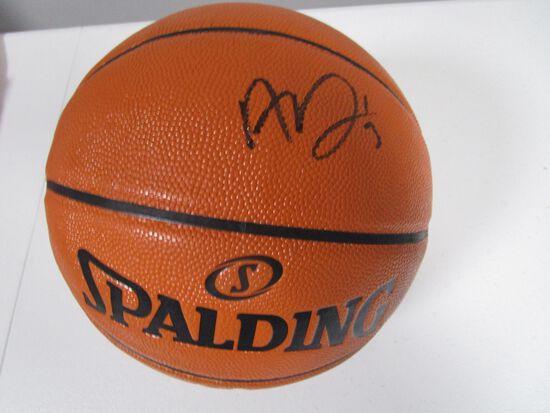 Anthony Davis of the LA Lakers signed autographed basketball PAAS COA 668
