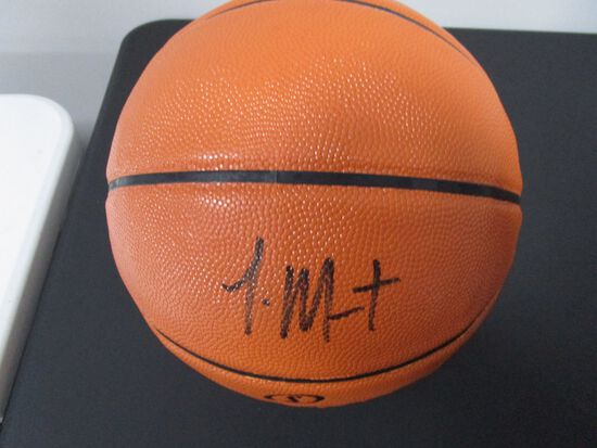 Ja Morant of the Memphis Grizzlies signed autographed basketball PAAS COA 219