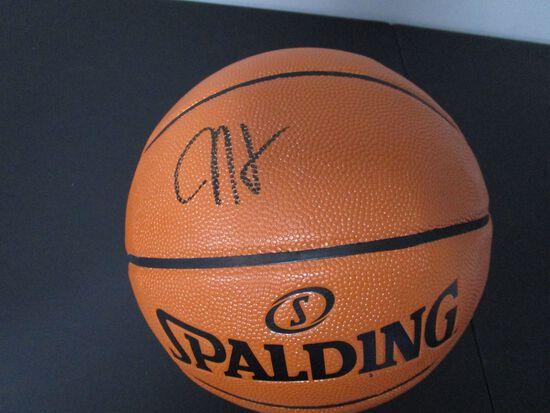 James Harden of the Houston Rockets signed autographed basketball PAAS COA 690