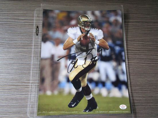 Drew Brees of the New Orleans Saints signed autographed 8x10 photo PAAS COA 732