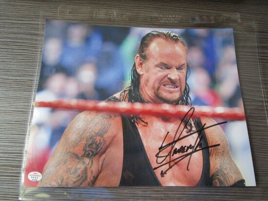 Undertaker of the WWE signed autographed 8x10 photo PAAS COA 399