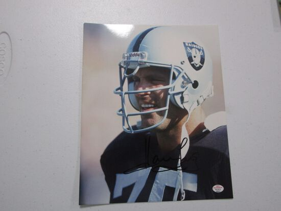 Howie Long of the Oakland Raiders  signed autographed 8x10 photo PAAS COA 031