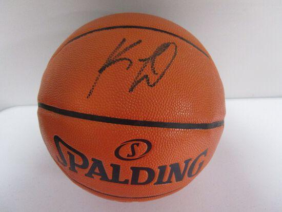 Kwahi Leonard of the LA Clippers signed autographed full size basketball PAAS COA 217