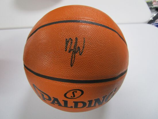 Zion Williamson of the New Orleans Pelicans signed autographed full size basketball PAAS COA 164