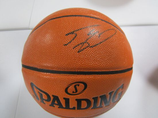 Shaquille O'Neal of the LA Lakers signed autographed full size basketball PAAS COA 536