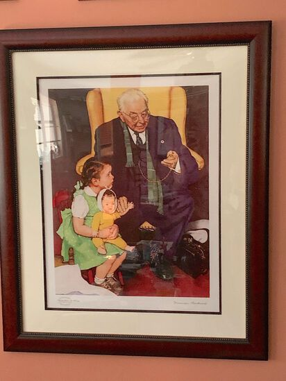 Norman Rockwell - Limited Edition Lithrograph - no. 428 of 750
