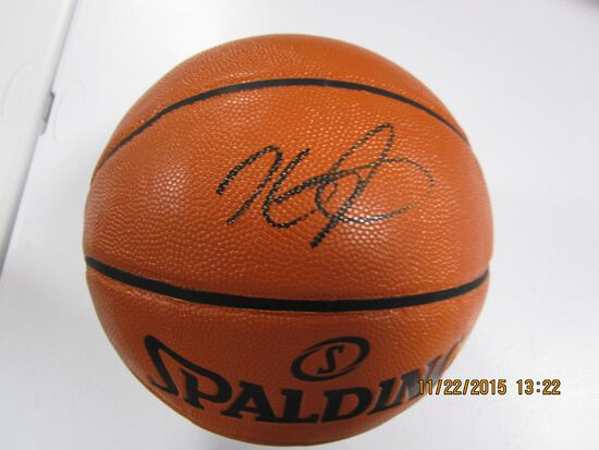 Kevin Durant of the Brooklyn Nets signed autographed full size basketball PAAS COA 257