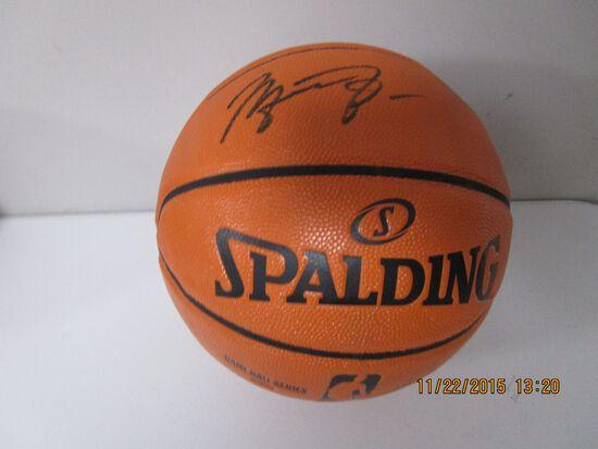 Michael Jordan of the Chicago Bulls signed autographed full size basketball ATL COA 771