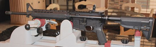 SPRINGFIELD SAINT AR-15   5.56  W/ 2 NEW MAGAZINES