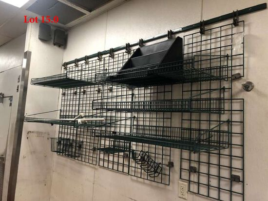 Wall Mount Racking System 10ft