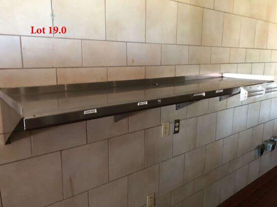 Stainless Steel Overshelf