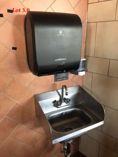 Wall Mount Hand Sink