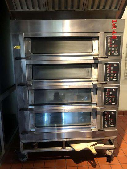 Adamatic modular four Deck Baking Oven