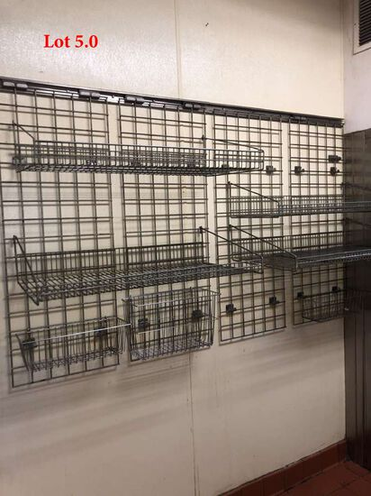 Wall Mount Racking System 8ft