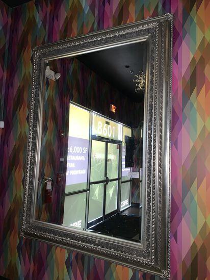 Heavy Duty Framed Mirror