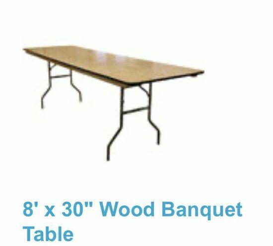 Rectangular 8' Table