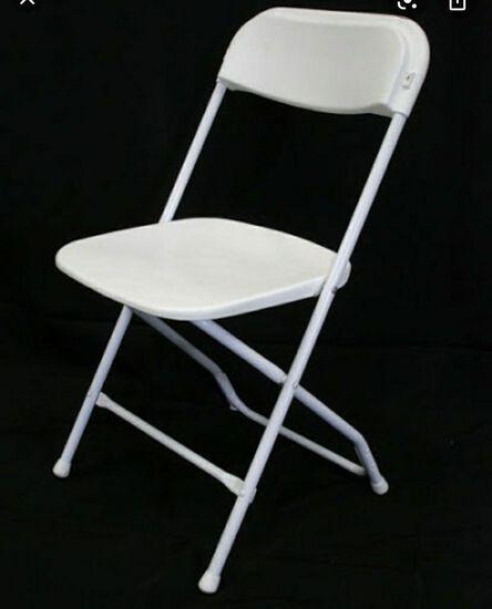 White Folding Chairs