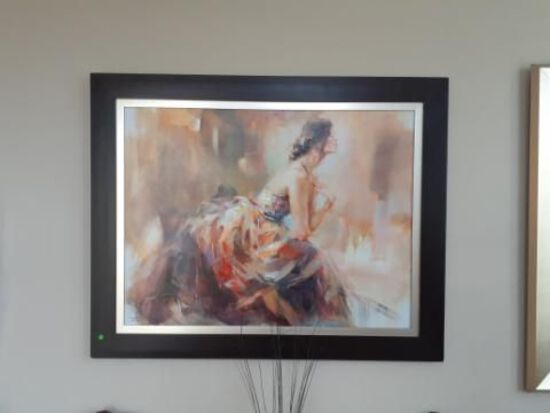 In the Golden Light -Anna Razuovskaya -Limited ed. 5 of 50- Double Signed
