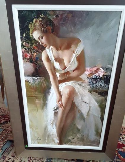 Angelica by Pino - Giclee - Limited ed 195 0f 295 - 36 x 53 inches