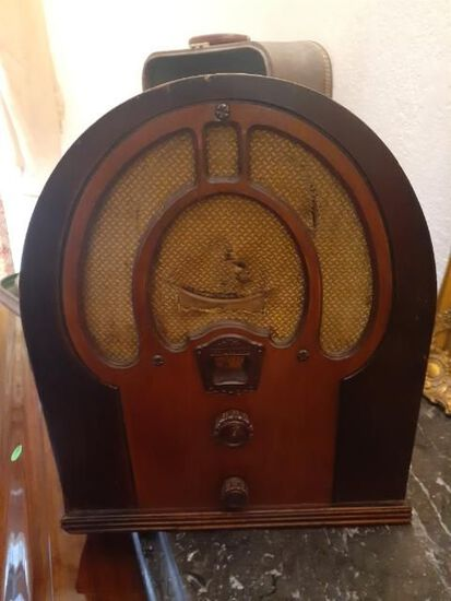 Antique Radio by Philco