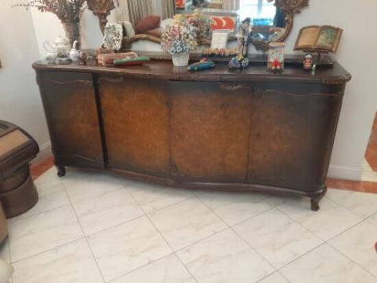 Large Antique Cabinet with keys- Excellent Condition