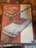 2 car Adverisements - Cadillac, and Lincoln - Framed - 8.5 x 11 inches