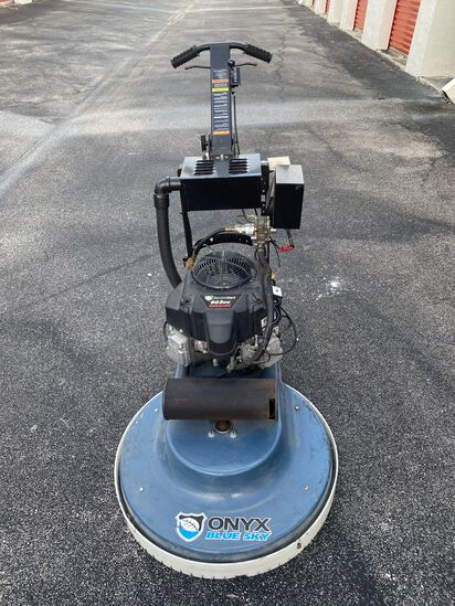"Onyx 27"" Blue Sky Dust Control Propane Burnishers - 18 HP Dust Control"