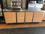Beverage Table/Cabinet 8 Ft