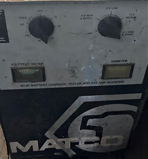 Matco BC95 Battery Charger