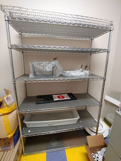 7 Wire Shelving Units