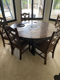 Wood Dining Table Set