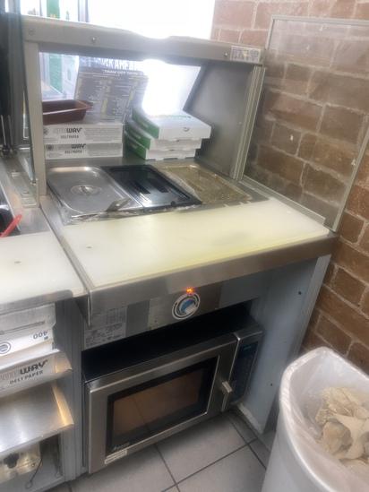 Hot Food Warming/Serving Station
