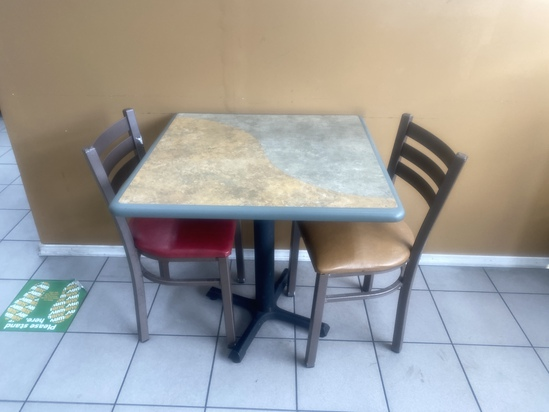 """24"""" x 24'""""Two Top Tables"""