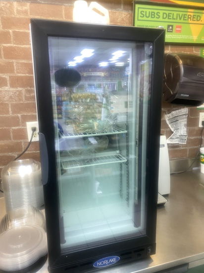 Norlake Counter Top Merchandising Cooler