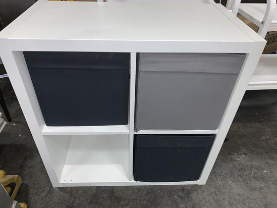 Shelf Unit, Ideal for Storage or Room Divider
