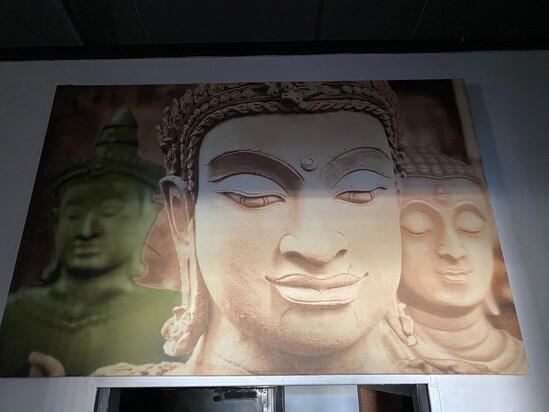 """64"""" x 36"""" Zen Picture"""